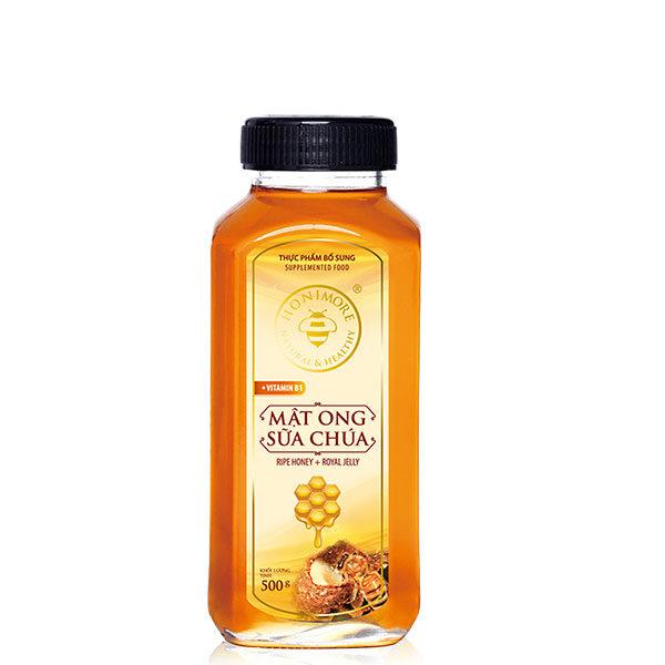 Mật ong sữa chúa Honimore chai 500g