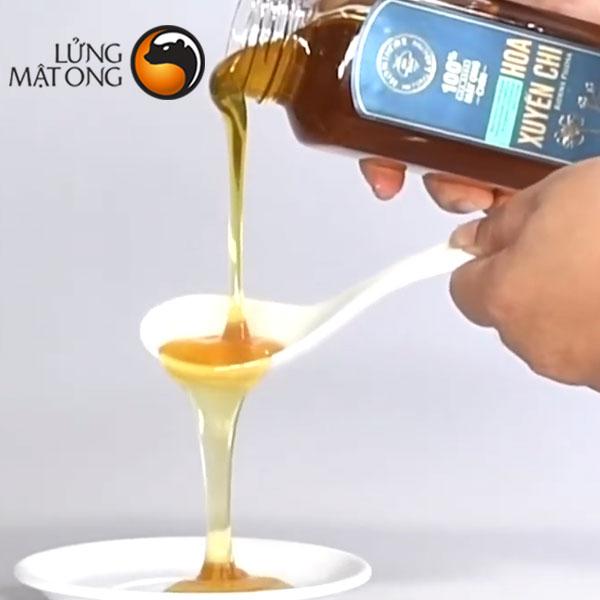Mật ong rừng Hoa Xuyến Chi Honimore - 100% mật ong chín