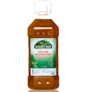 Mật ong Rừng Nhiệt Đới nguyên chất chai 2,8kg
