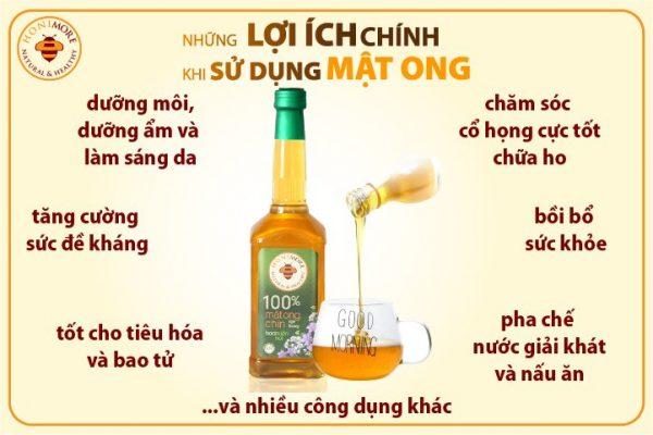 Cong dung cua Mat ong rung nguyen chat Hoa mien nui 2