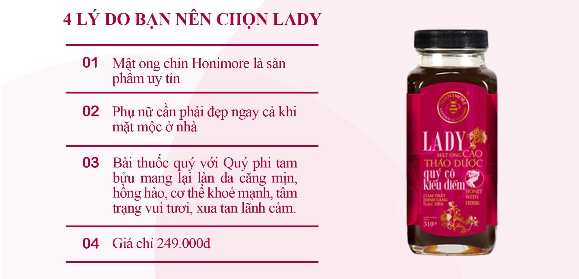 Nên chọn sản phẩm lady
