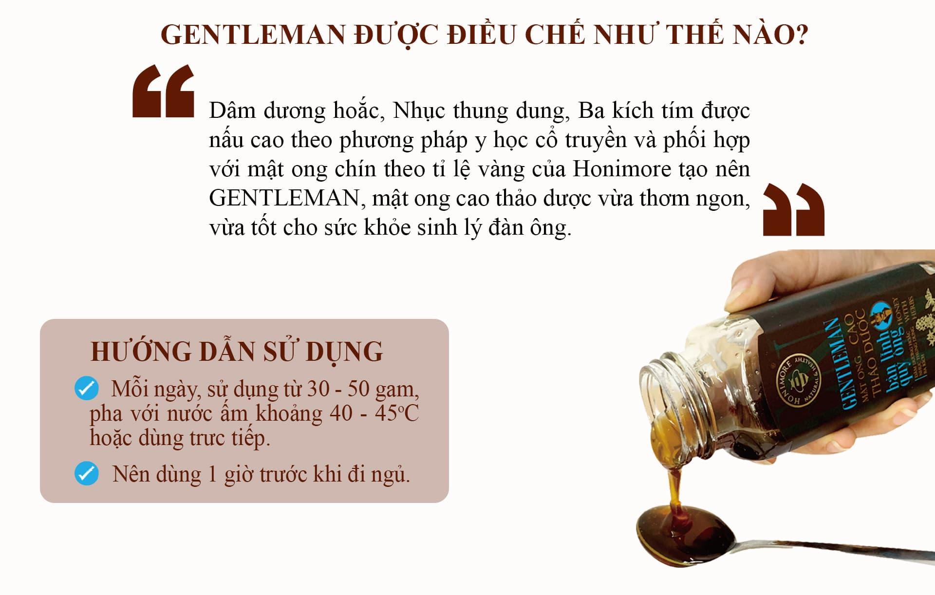 hướng dẫn sử dụng gentleman