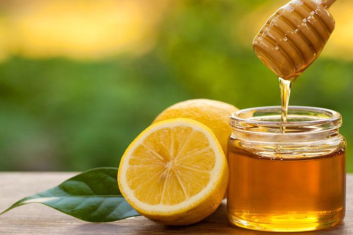 mật ong chanh