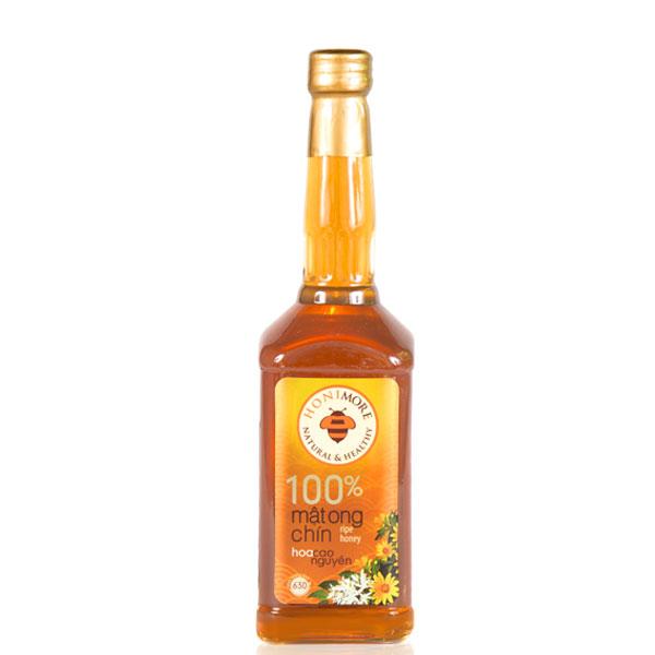 Mật ong rừng Hoa Cao Nguyên: giảm giá 40% cho Combo 1 chai 630g + 1 hũ 360g