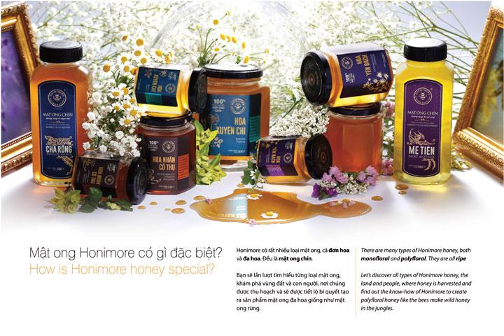 6 loại mật ong nguyên chất - mật ong rừng quý từ Honimore