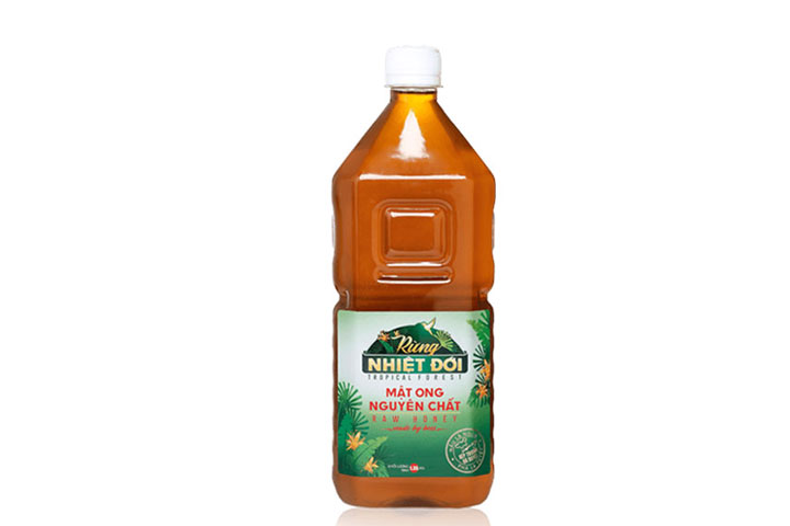 Mật ong nguyên chất Rừng Nhiệt Đới 1350g