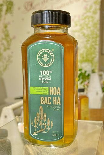 Mật ong rừng Hoa Bạc Hà 500g của Honimore -100% Mật ong chín