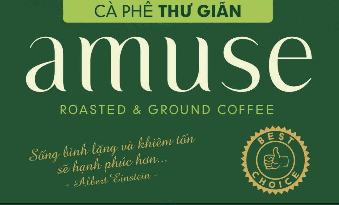 Cà phê phin Bandon Amuse