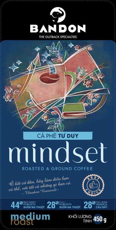 Cà phê phin Mindset 450g - cà phê tư duy