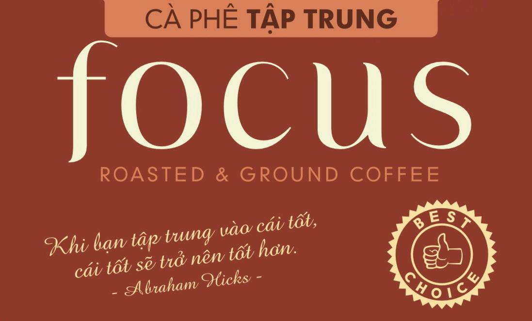 Cà phê phin Bandon Focus