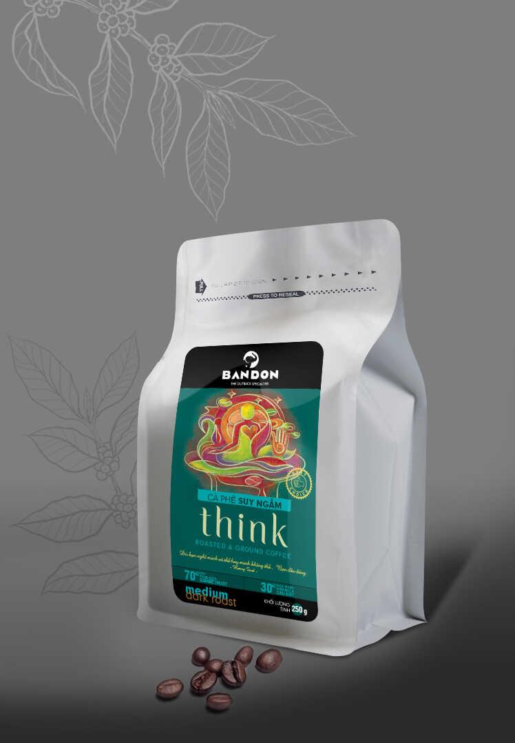 Cà phê phin Bandon Think 250g - cà phê Suy ngẫm