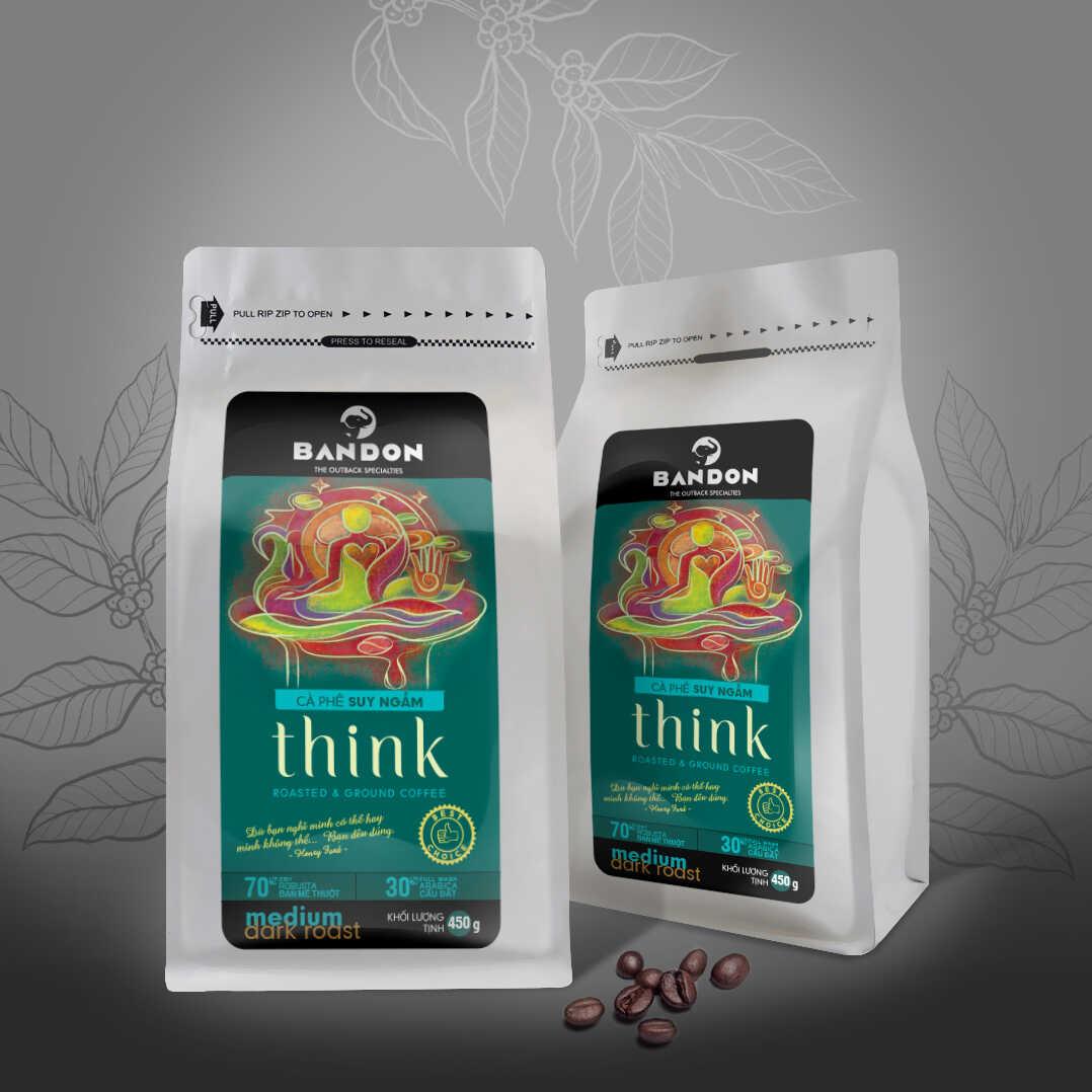 Cà phê phin Bandon Think 450g - cà phê Suy ngẫm